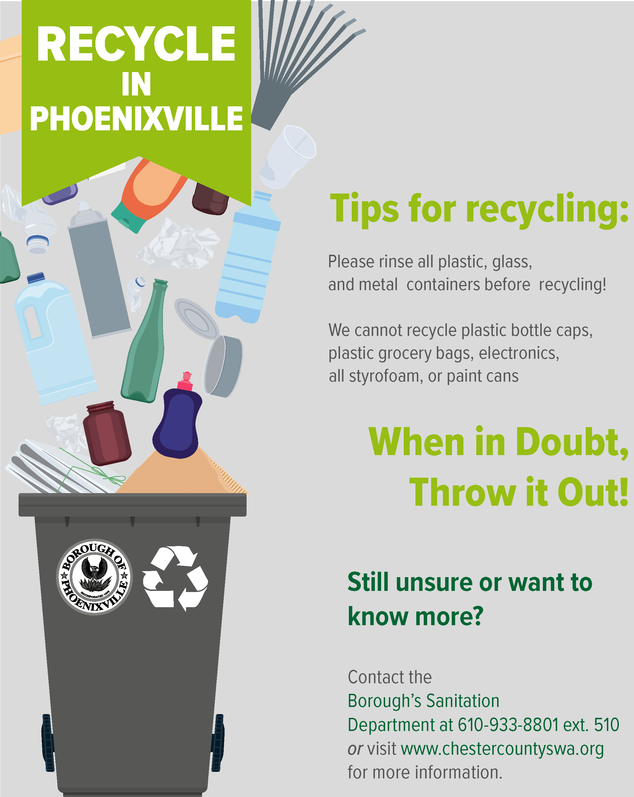 2019 RECYCLING FLYER