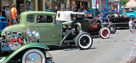 Car Show on the Street