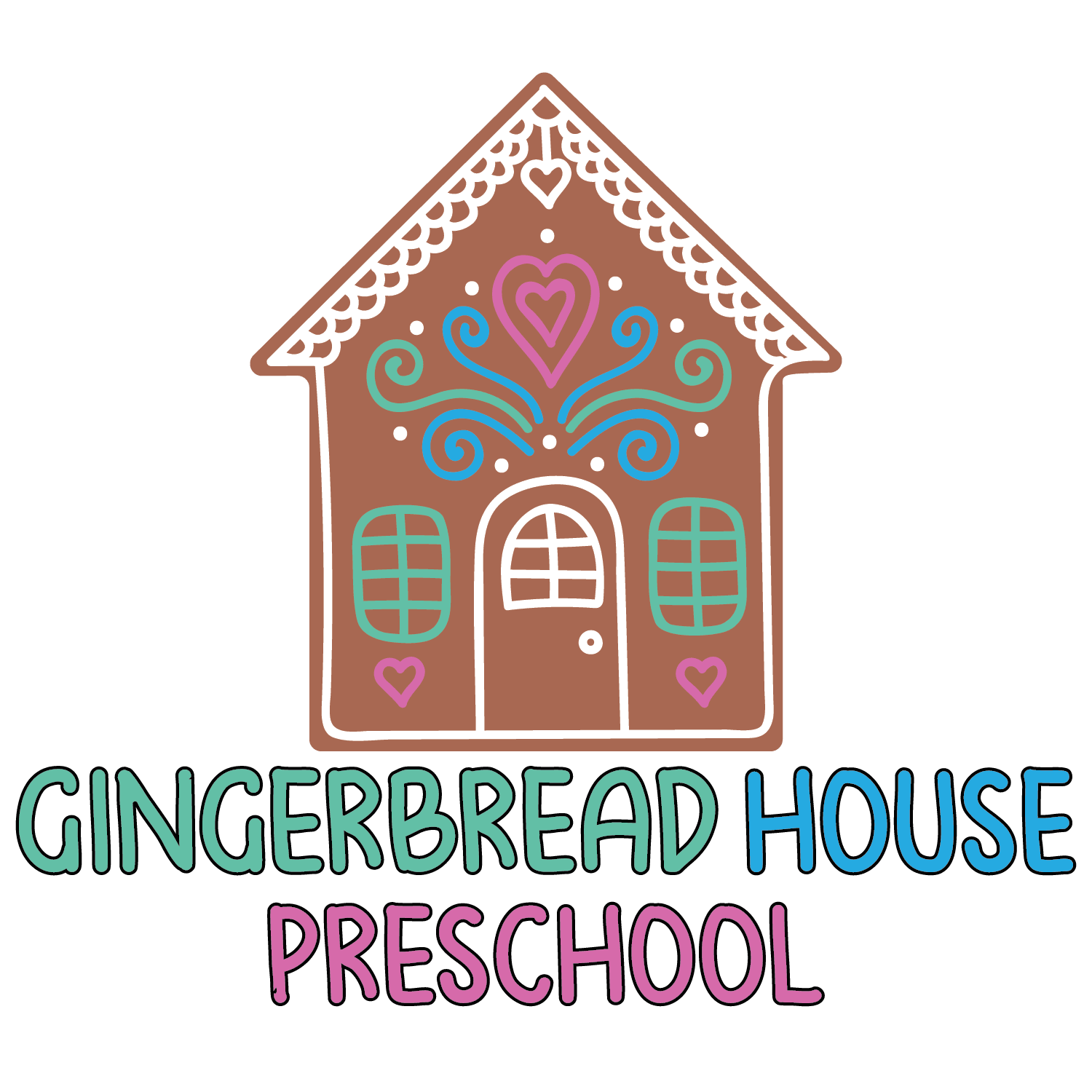 GingerbreadHouse Preschool Logo